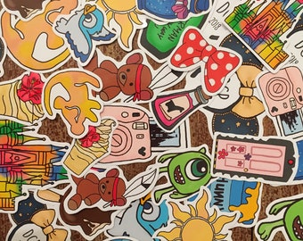 Sprinkle Some Magic - 20 or 40 Stickers