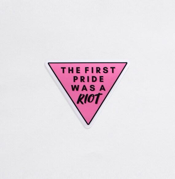Pride Was A Riot Sticker Sticker Vinyl Bumper Sticker Decal Waterproof 5