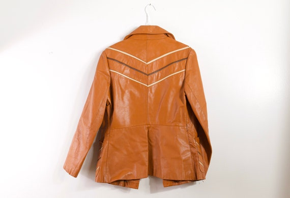 VINTAGE 70s killer leather jacket