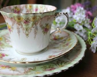Bridgewoods Trio, Teacup, saucer and Tea Plate