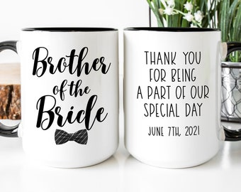 The Brother of the Bride Mug