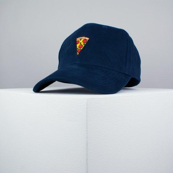 Custom Soft Baseball Cap Pepperoni Pizza Slice Embroidery Twill Cotton