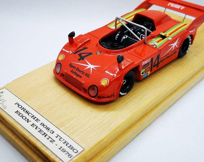 Porsche 908/3 Turbo Egon Evertz 500km Dijon 1976 #14 Martin/Greger Pitlane43 special 1:43 factory built