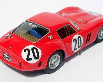 Ferrari 250 GTO 4757GT Le Mans 1963 #20 Tavano/Abate Remember Models kit 1:43
