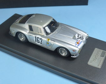 Ferrari 250 GT SWB 2595GT Scuderia Filipinetti Tour Auto 1963 #163 Walter/Mueller Madyero by REMEMBER Models 1:43 - Factory built
