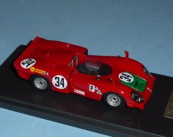 Alfa Romeo 33/3 Sebring 12 hours 1969 #34 Giunti/Galli Madyero by Remember 1:43 Factory built
