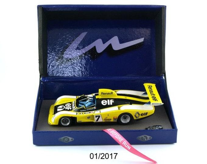Alpine Renault A442 Gr.6 Le Mans 1977 #7 Tambay/Jaussaud GTS Série Le Mans Miniatures slot car 1:32 132077/7M