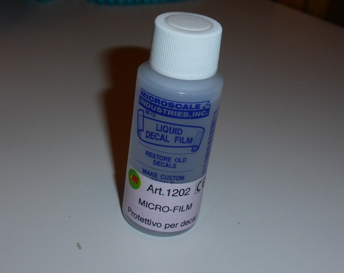 Microscale Micro-film Liquid decal film - restore old decals 1fl.oz. #1202