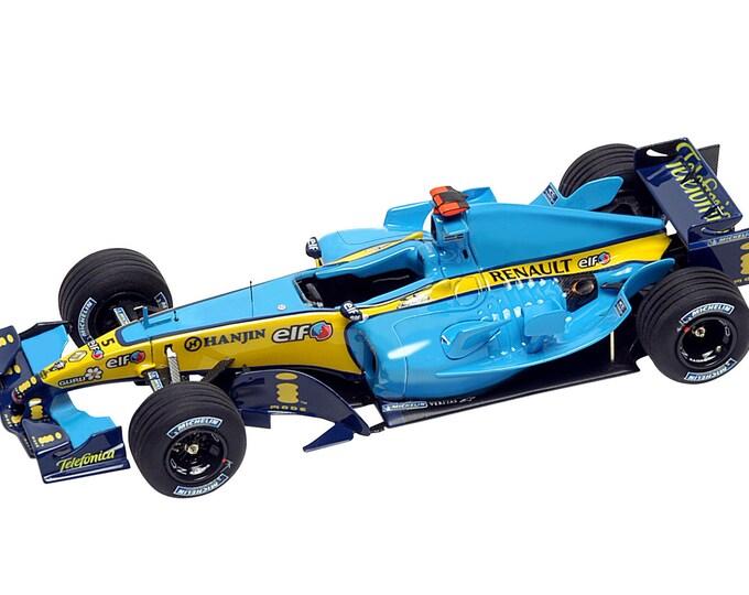Renault R25 Formula 1 San Marino GP Imola 2005 Alonso or Fisichella TAMEO Kits SLK021 1:43