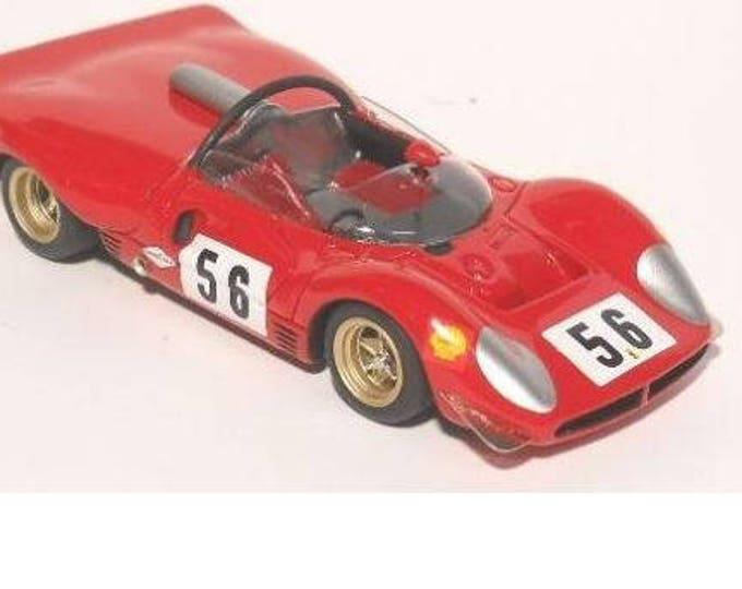 Ferrari 330 P3-P4 (412P) 1969 Wunsdorf race # 56 Hans Hermann David Piper Racing REMEMBER kit 1:43