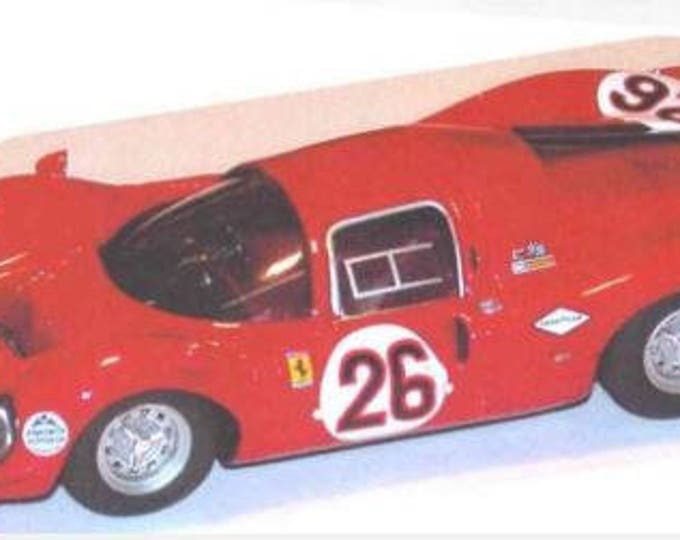 Ferrari 330 P3/P4 (412 P) Coupé N.A.R.T. Daytona 24 hours 1967 #26 REMEMBER kit 1:43