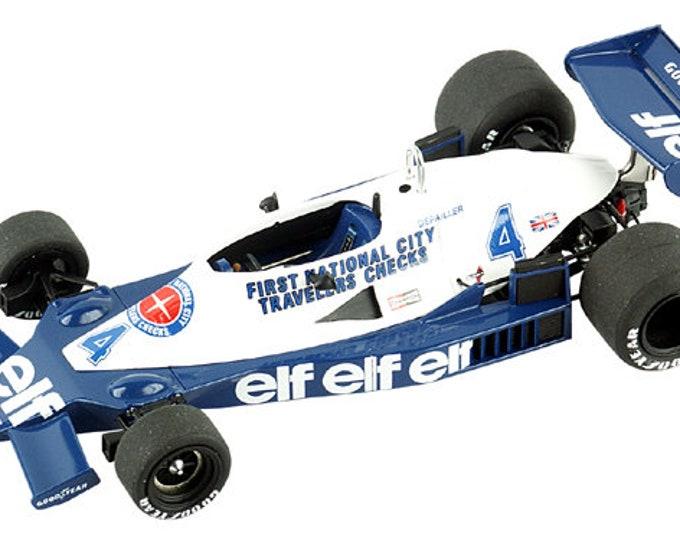 Tyrrell Ford Cosworth 008 F.1 Monaco GP 1978 Pironi or Depailler TAMEO Kits TMK303 1:43