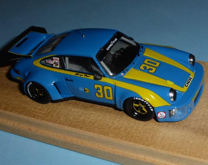 Porsche 911 Carrera RSR IMSA Sebring 12 hours 1977 winner Dyer/Frisselle #30 Madyero by Remember 1:43 Factory special built