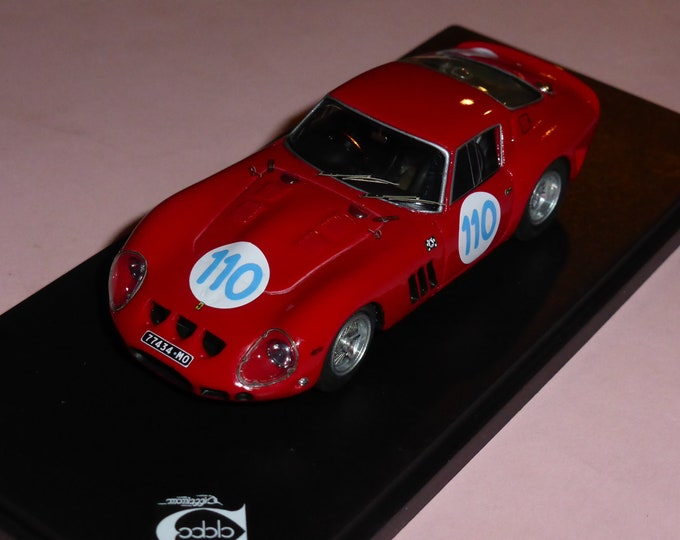 Ferrari 250 GTO 3647GT Targa Florio 1963 #110 Hitchkock/Tchkotoua 1:43 Remember Models factory built