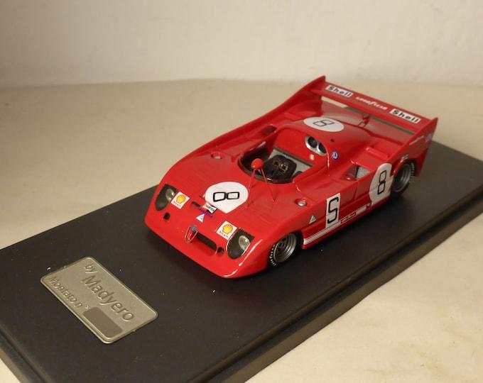 Alfa Romeo 33TT12 1000km Nurburgring 1973 #8 De Adamich/Stommelen Madyero by Remember 1:43 Factory built