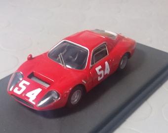 Fiat Abarth 1300 OT long tail 1000km Monza 1966 Ortner/Steinmetz CARRARA Models 1:43 factory built