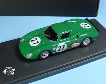 Ferrari 250 LM 5897GT long nose Daytona 24h 1966 #27 Piper/Attwood 1:43 Remember Models factory built