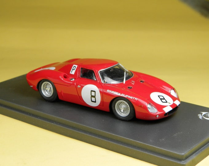 Ferrari 250 LM 8165GT Scuderia Filipinetti 1000km Nuerburgring 1966 #8 Mairesse/Mueller 1:43 Remember Models factory built