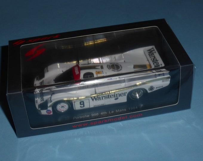 Porsche 956 Gr.C Warsteiner Le Mans 1984 #9 Brun/Von Bayern/Akin Spark S7504 still sealed 1:43 SHIPPING OFFERED