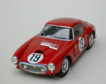 Ferrari 250 GT SWB 1759GT Nart Le Mans 1960 #19 Hugus/Pabst KIT Madyero 1:43