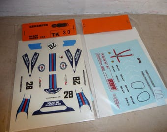 high quality 1:43 decals Porsche 917 K Martini 1000KM Zeltweg 1971 #28 Remember TK30