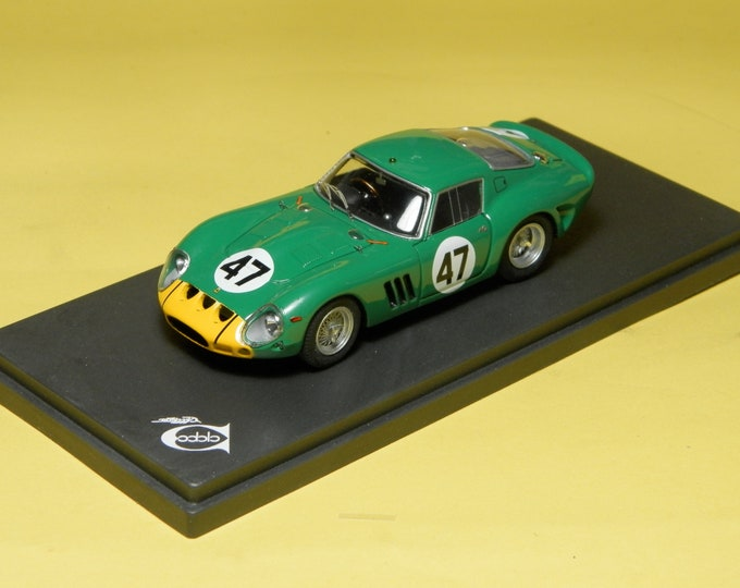 Ferrari 250 GTO 3767GT 1000km Nurburgring 1963 #47 Piper/Cantrell REMEMBER Models 1:43 - Factory built