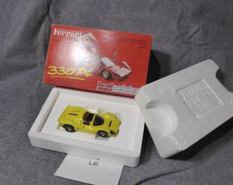 Ferrari 330 P4 Spyder special yellow edition for Rosso Corsa JOUEF 1:43