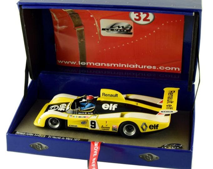 Alpine Renault A442 Gr.6 Le Mans 1977 #9 Jabouille/Bell GTS Série Le Mans Miniatures slot car 1:32 132077/9M