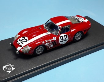 Ferrari 250 GTO 3223GT Daytona Continental 2000km 1964 #32 Perkins/Eve REMEMBER Models 1:43 - Factory built