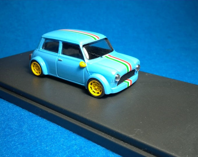 Mini Cooper Racing Group 2 light blue special version Tavarco by Remember 1:43 - Factory built