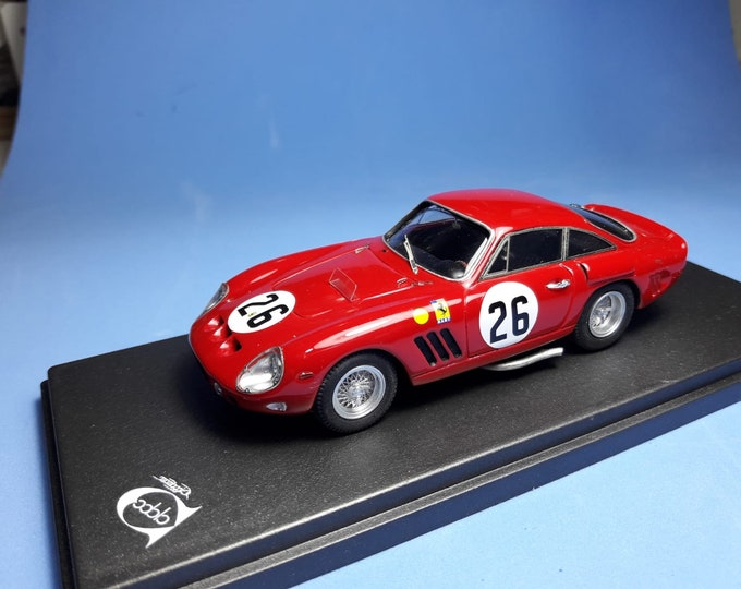 Ferrari 250 GTO 4713GT NART Le Mans 1963 #26 Gregory/Piper REMEMBER Models 1:43 - Factory built