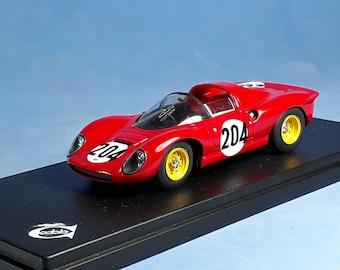 Ferrari 206S Targa Florio 1966 #204 Scarfiotti/Parkes REMEMBER Models 1:43 Factory built