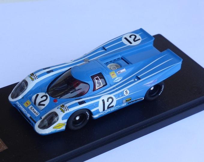 Porsche 917K Team Salzburg 1000km Brands Hatch 1970 #12 Herrmann/Attwood Fast by Ciemme43 1:43 factory built