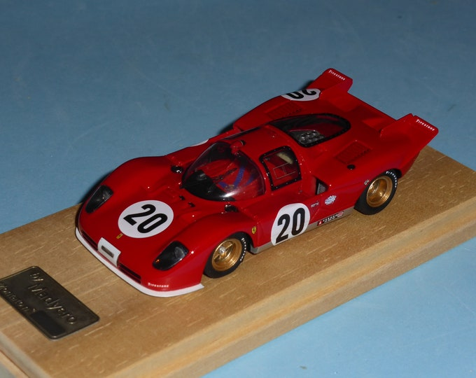 Ferrari 512S 1000km Spa 1970 #20 Ickx/Surtees Madyero by Remember 1:43 Factory built (special edition)
