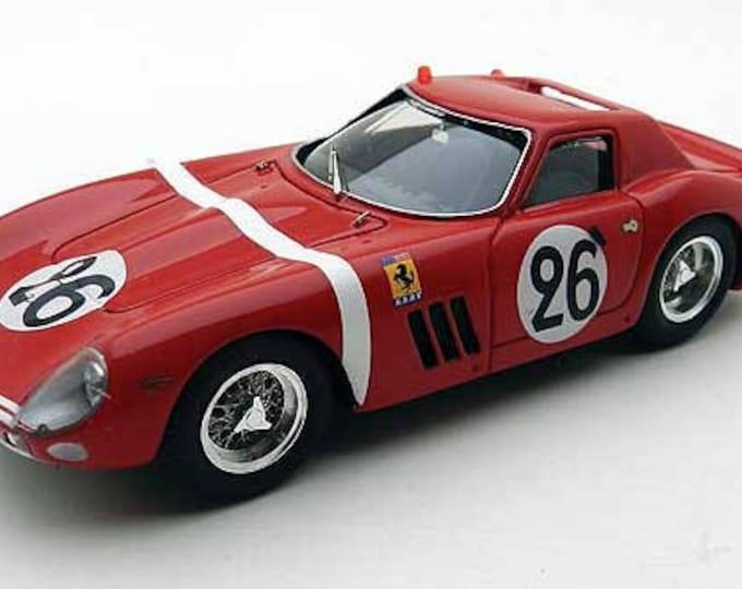 Ferrari 250 GTO 5571GT NART Le Mans 1964 #26 Hugus/Rosinski Remember Models KIT 1:43