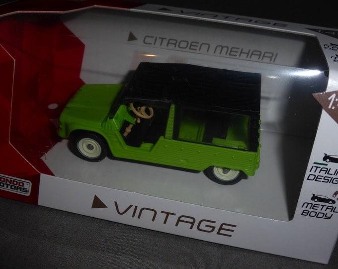 Citroen Mehari green - Mondo Motors Vintage range - Die cast model 1:43 - Brand new in box