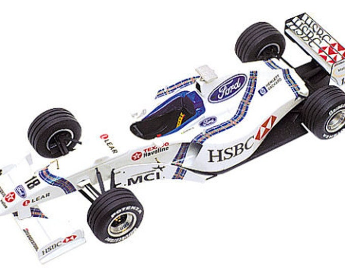 Stewart Ford SF-2 Formula 1 Spanish GP 1998 Magnussen or Barrichello TAMEO Kits TMK263 1:43