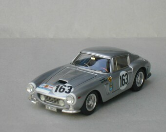 Ferrari 250 GT SWB 2595GT Scuderia Filipinetti Tour de France Auto 1963 #163 Walter/Mueller KIT Madyero 1:43