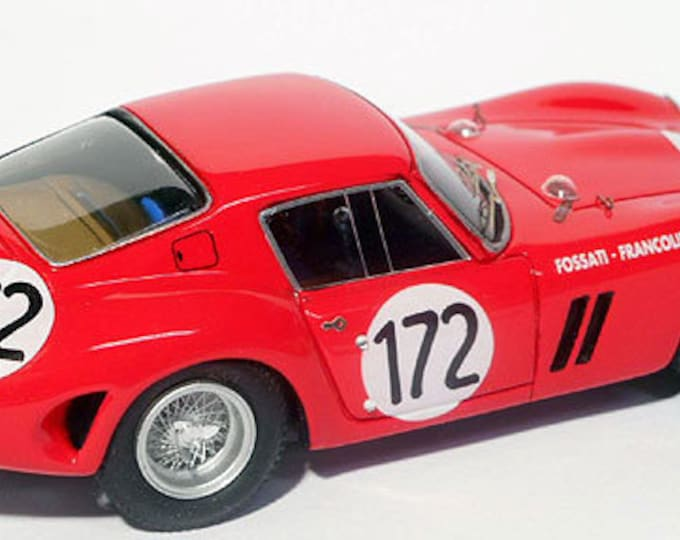 Ferrari 250 GTO 4675GT Tour Auto 1963 #172 Fossati/Francolini Remember Models kit 1:43