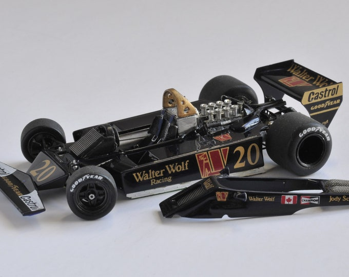 Wolf Ford WR5 F.1 Walter Wolf Racing - Belgian or Spanish Grand Prix 1978 Tameo kit TWU001 1:43