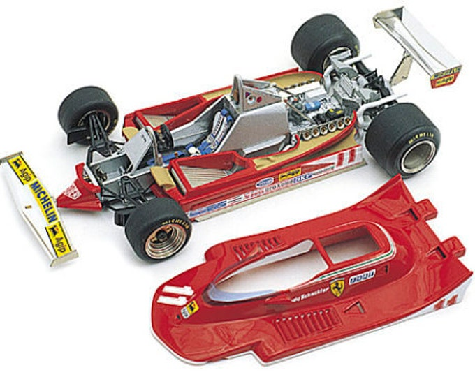 Ferrari 312 T4 F.1 Italian GP Monza 1979 Scheckter or Villeneuve TAMEO Kits WCT-079 1:43