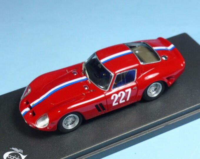 Ferrari 250 GTO 3607GT Mont Ventoux 1965 #227 Anne Soisbault de Montaigu REMEMBER Models 1:43 - Factory built