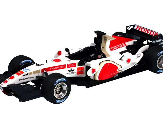 BAR - Honda 007 Formula 1 Japanese GP 2005 Jenson Button or Takuma Sato TAMEO Kits SLK025 1:43