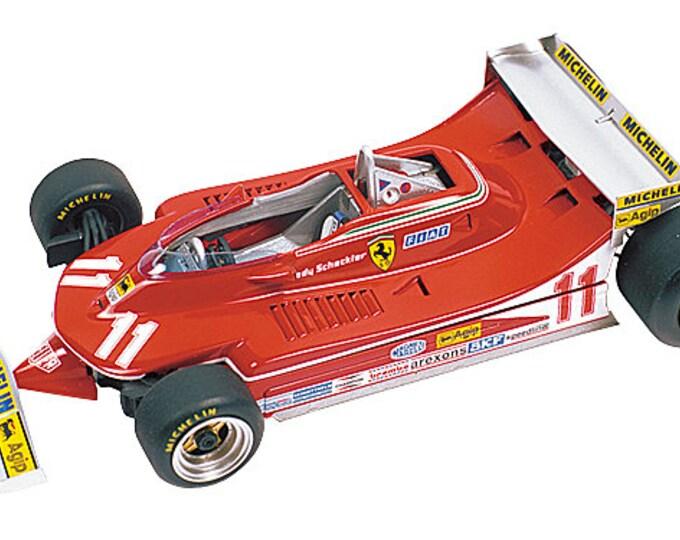 Ferrari 312 T4 F.1 Monaco Grand Prix 1979 Villeneuve or Scheckter TAMEO Kits TMK241 1:43