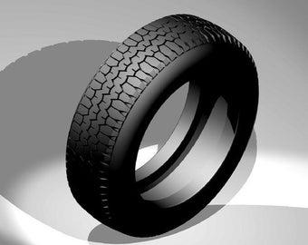 set of 4 tires for small cars D=17,5 x 5,4mm GTS Série Le Mans Miniatures slot car 1:32 SPA132035