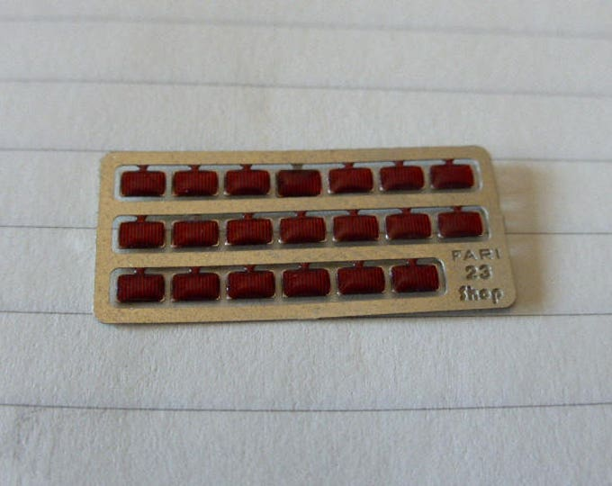 high quality photoetched+resin lights rectangular red mm 2.0x3.0 FLR23 for model cars and other models