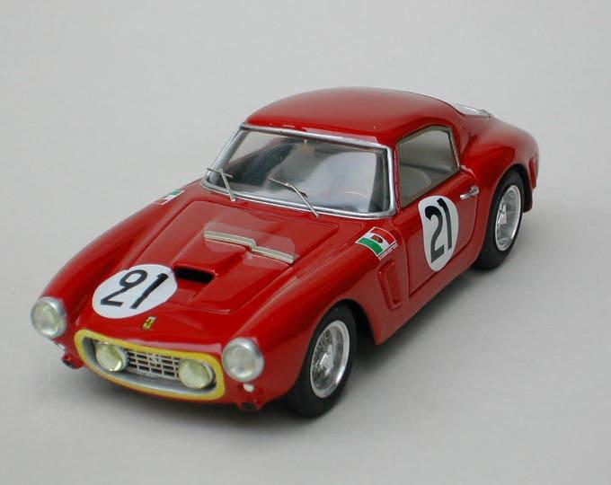 """Ferrari 250 GT SWB 1811GT Ecurie Belge Le Mans 1960 #21 """"Beurlys""""/Lucien Bianchi KIT Madyero 1:43"""