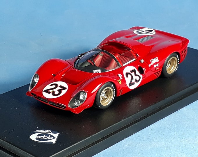 Ferrari 330 P4 Spyder Daytona 24h 1967 #23 Bandini/Amon REMEMBER Models 1:43 Factory built