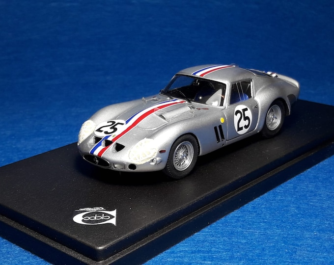 "Ferrari 250 GTO 4153GT Le Mans 1963 #25 Dumay/""Eldé"" REMEMBER Models 1:43 - Factory built"