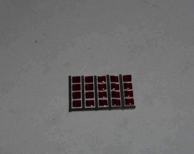 high quality photoetched+resin lights square red mm 2.5 FLQ2.5 for model cars and other models